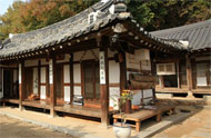 Hanok traditional house, South Korea
