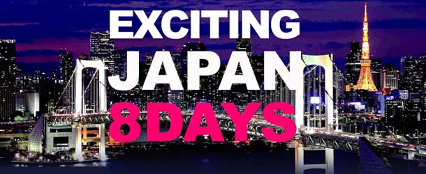 Exciting Japan - 8 Day Tour