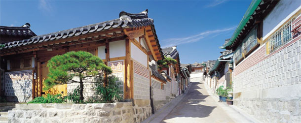 Hanok Village, Seoul, Korea